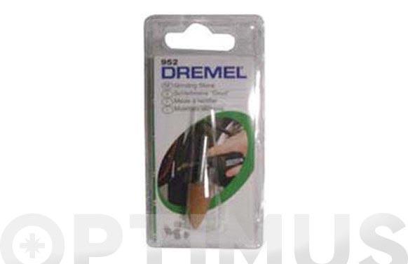 Muela afilar amolar (3 unid) ø 9.5 mm cilindrica