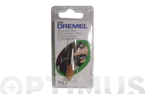 Muela afilar amolar (3 unid) ø 9.5 mm conica
