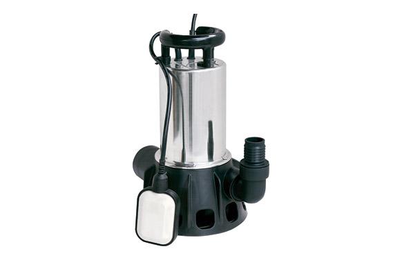 Bomba sumergible aguas sucias 1100 w inox 20.000 l / h -motegi 573