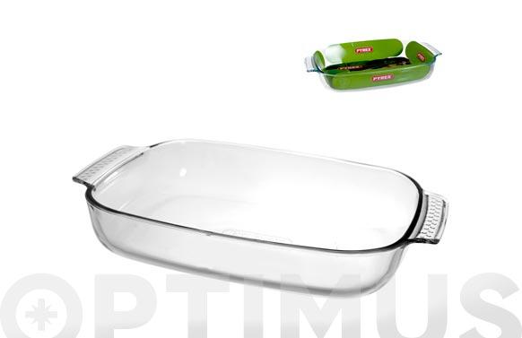 Bandeja vidrio horno rectangular pyrex 35 x 23 cm