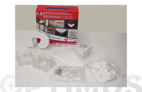 Protector infantil kit 30 piezas