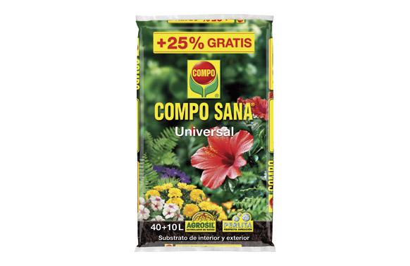 Substrato universal compo sana 40 +10 l gratis