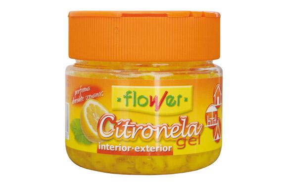 Repelente mosquitos gel citronela 125 gr