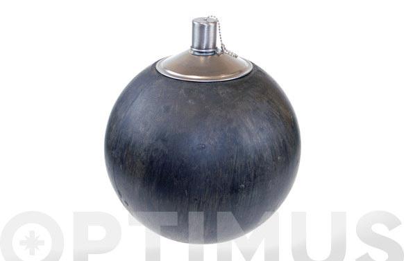 Lampara bola decorativa de aceite ø18 cm