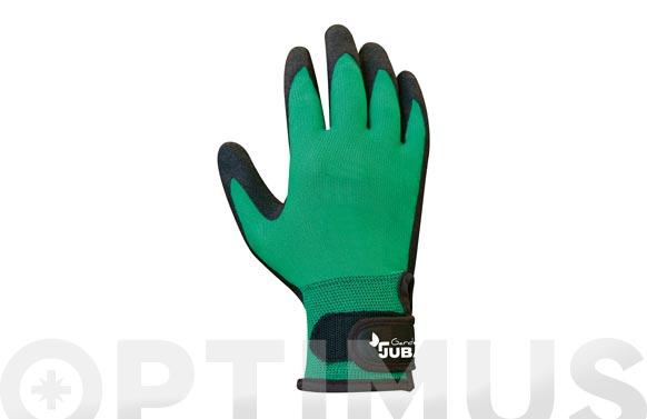 Guante nilon con recubrimiento pvc en palma t 7/s