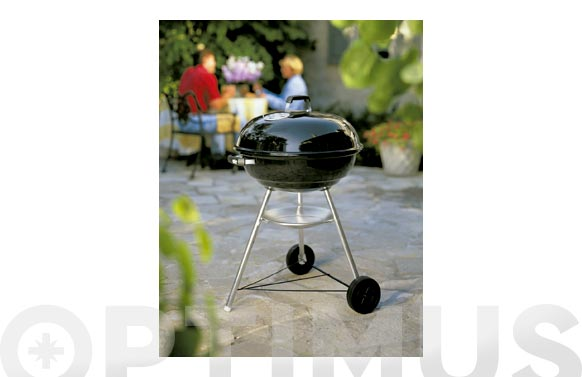 Barbacoa carbon compact kettle 57 cm negra