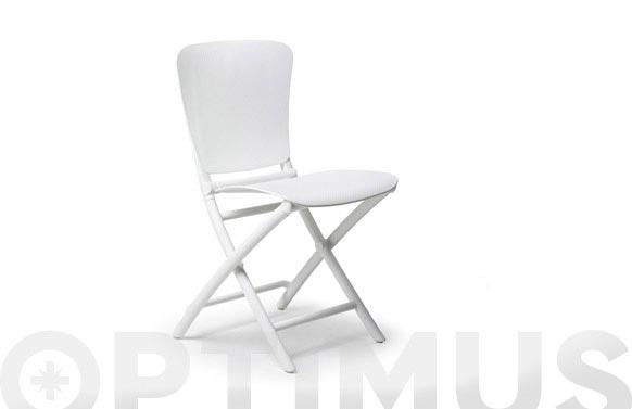 Silla plegable zac classic blanco