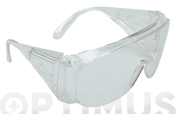 Gafa panoramica contra impactos incolora policarbonato