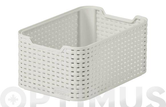 Caja pequeña style 7l blanco