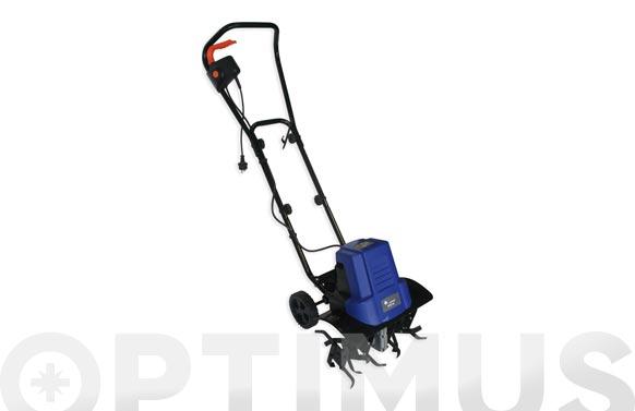 Motoazada electrica 1400w / 6 fresas ancho de trabajo: 45 cm. profundidad: 20 cm