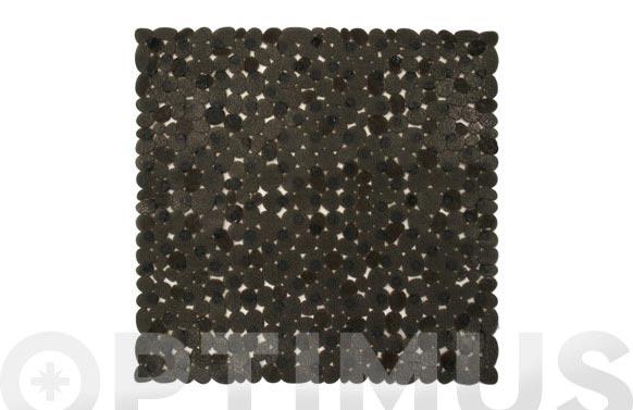 Alfombra antideslizante 54x54cm negra