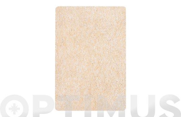 Alfombra baño 40x60 gobi beige ligh