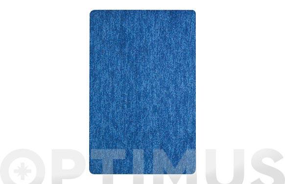 Alfombra baño gobi azul 40 x 60 cm