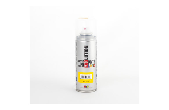 Pintura spray acrilica mate 270 cc ral9010 blanco mate