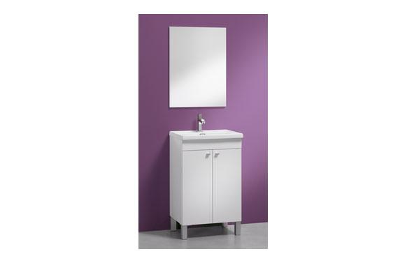 Lavabo ceramico 50x40-blanco
