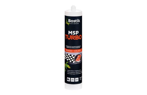 Adhesivo montaje msp turbo 290 ml - blanco