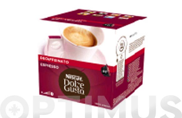 Capsula dolce gusto pack 16 uds expresso intenso descafeinado