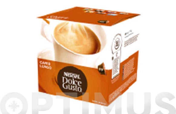 Capsula dolce gusto pack 16 uds caffe lungo