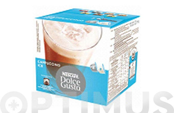 Capsula dolce gusto pack 8 + 8 uds cappuccino ice