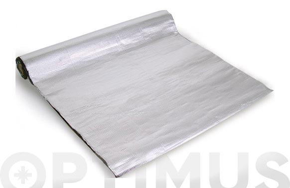 Lamina impermeable autoadhesiv alumin. 1x6m
