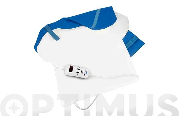Almohadilla pvc cervical/hombros/espalda con funda 57 x 46 cm 120w 15''