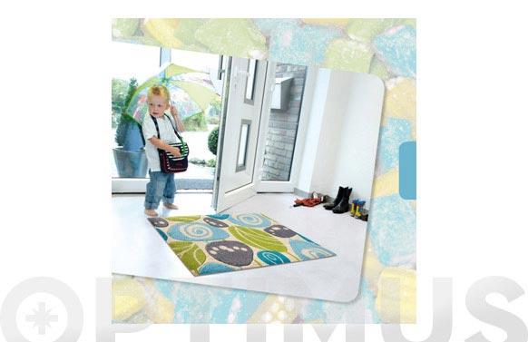Alfombra textil antideslizante 64 x 97 cm