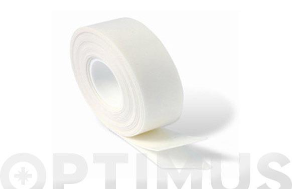 Cinta doble cara blanco 19 mm x 2.5 m