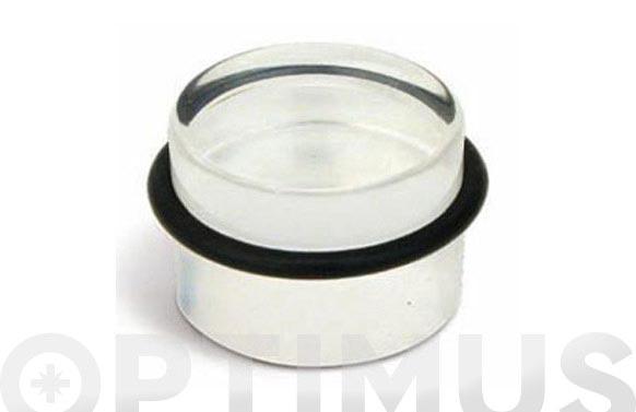 Tope metracril cilindrico adh transparente