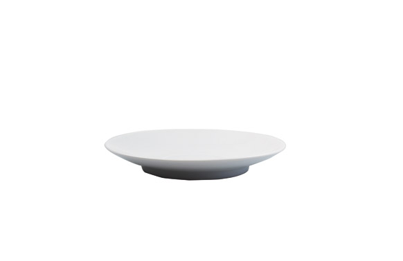 Plato desayuno porcelana ambit blanco