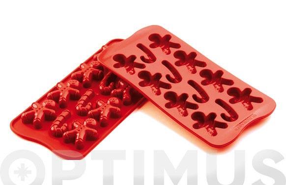 Molde bombones silicona ambit ginger-scg12