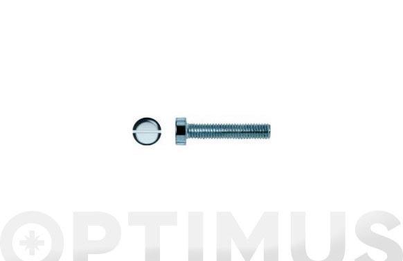 Tornillo din 84 cabeca cilindrica cincado m-5 x 60