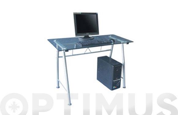 Mesa ordenador cork transp lpa-115c