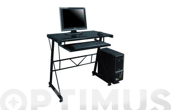 Mesa ordenador dublin negro lpa-504bk