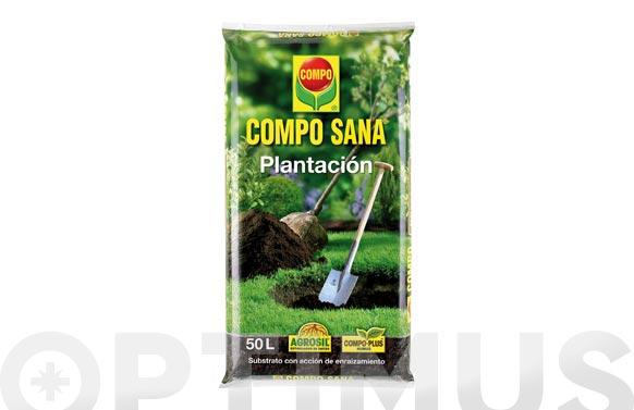 Substrato plantacion compo sana 50l