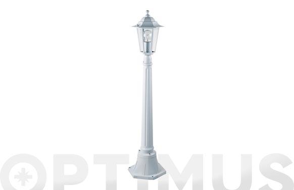 Farola aluminio orlando blanco 1 m