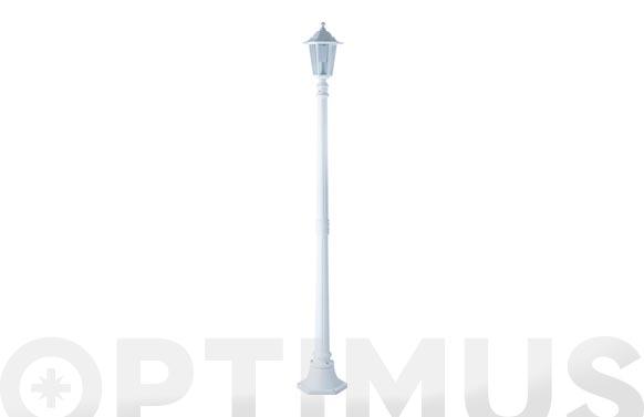 Farola aluminio orlando blanco 1,7 m