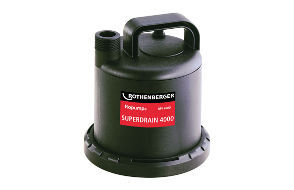 Bomba trabajo continuo aguas limpias 80w 3.000 l / h -superdrain