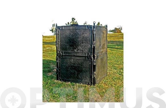 Compostador modular combox barcelona 300l gris