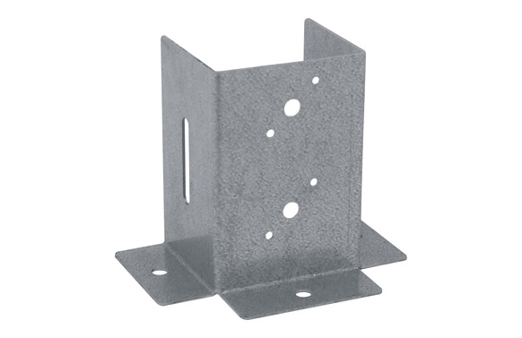 Pletina cuadrada b.p.vertical 90 x 90 mm