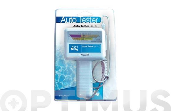 Analizador agua piscina ph y cloro analogico
