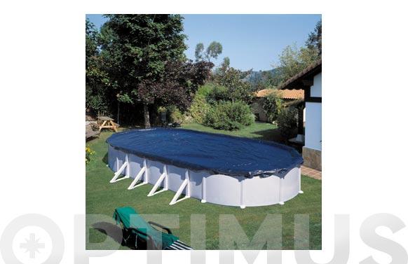 Cubierta piscina de invierno 610 x 410 cm (para piscinas 500 x 300 cm) rec