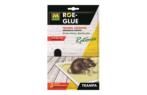 Trampa adhesiva ratones roe-glue
