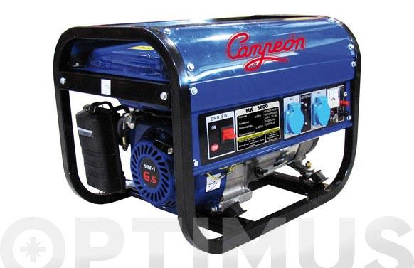 Generador campeon 2,8kva 196cc mk3600