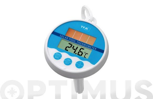 Termometro piscina panel solar