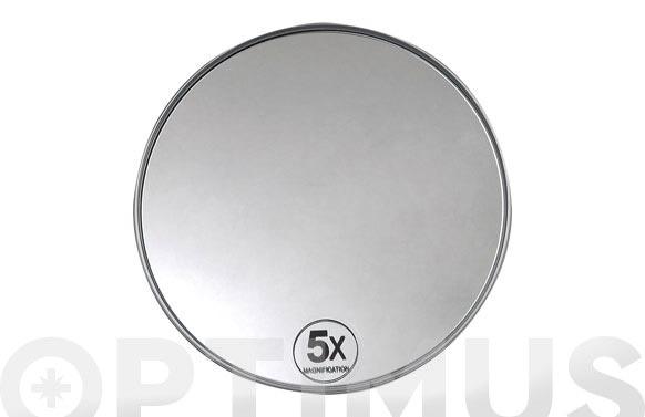 Espejo 5 aumentos c/ventosa andrea ba09004-d.15