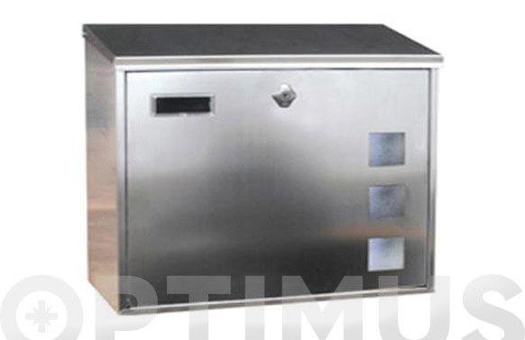 Buzon exterior inox lisboa-6 horizontal