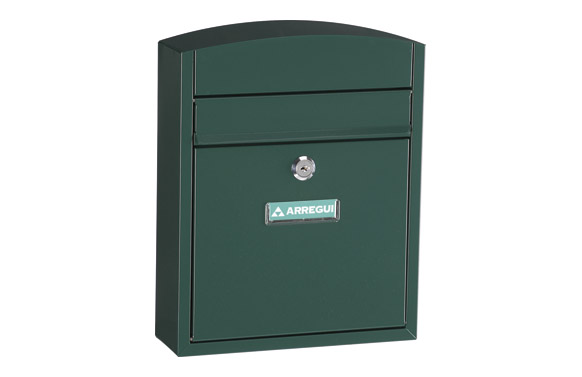Buzon exterior acero compact verde