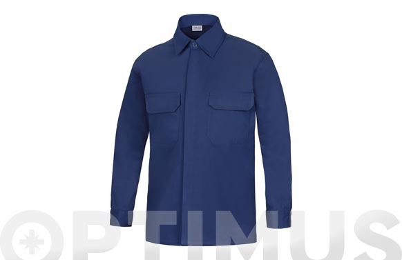 Camisa manga larga ignifuga + antiestatica l3000 t 54 azul marino