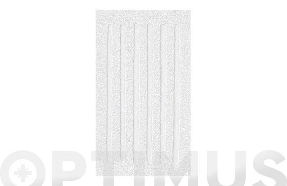 Alfombra baño algodon dakar blanco 55 x 65 cm