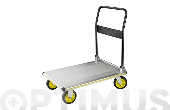 Carro plataforma aluminio plegable 300kg